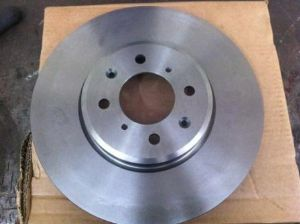 Pair MG ZR 160 brake disks (genuine MG-Rover) 282mm